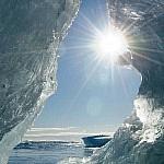 Gletsjerijs aan de Zuidkust nabij het Jökulsarlón