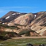 Rhyolietbergen bij Landmannalaugar