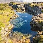 Silfra bij Þingvellir