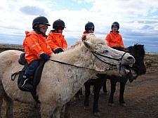 Paardrijden bij Eldhestar