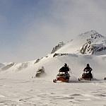 Schneemobil Tour