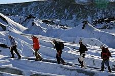 Glacier hike Vatnajökull, Iceland