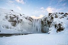 blz 60 winter Skogafoss shutterstock_244107724