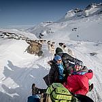 Ost Grönland Polarlichter